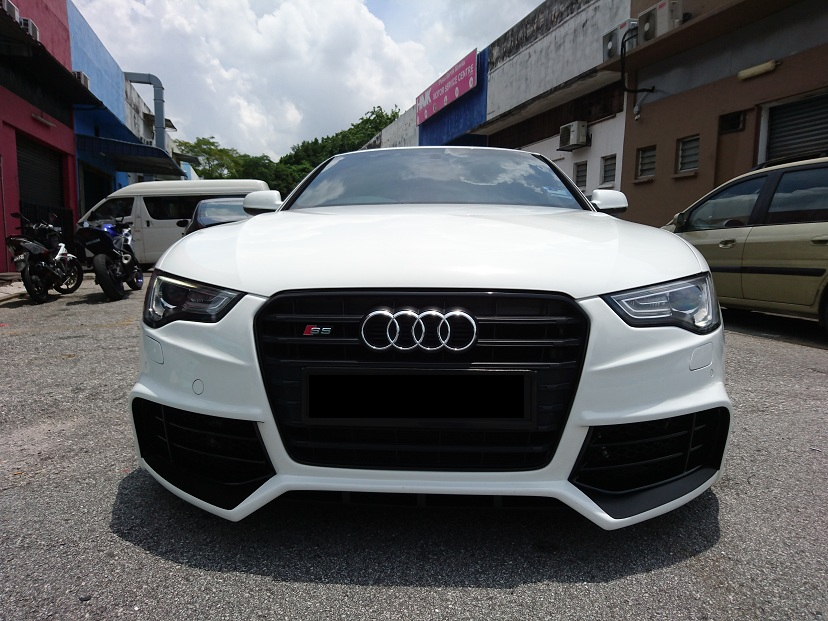 A5 Rieger RS5 Bodykit