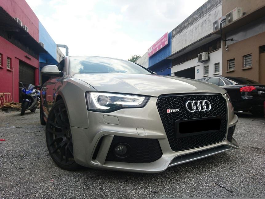 Audi A5 Caractere Bodykit