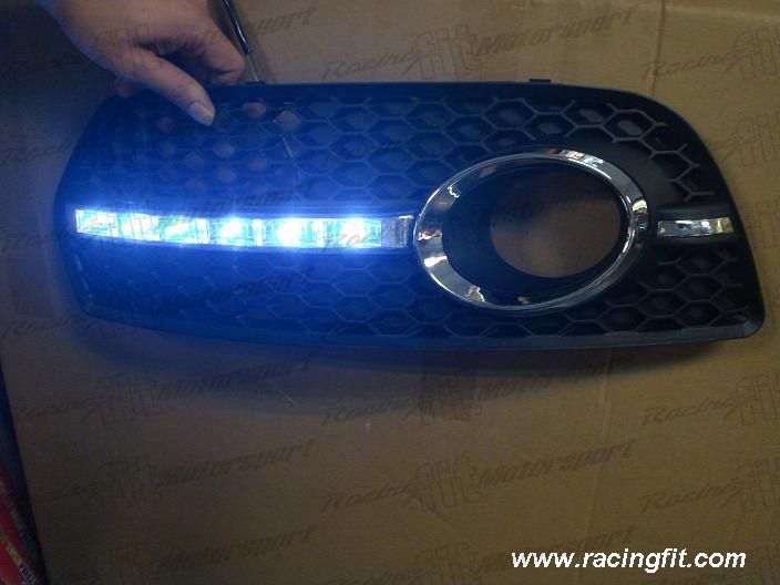 Audi Q5 Foglamp Cover with DRL light