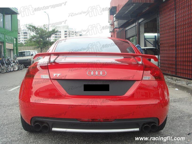 Audi TT 2007 Above TTRS Spoiler