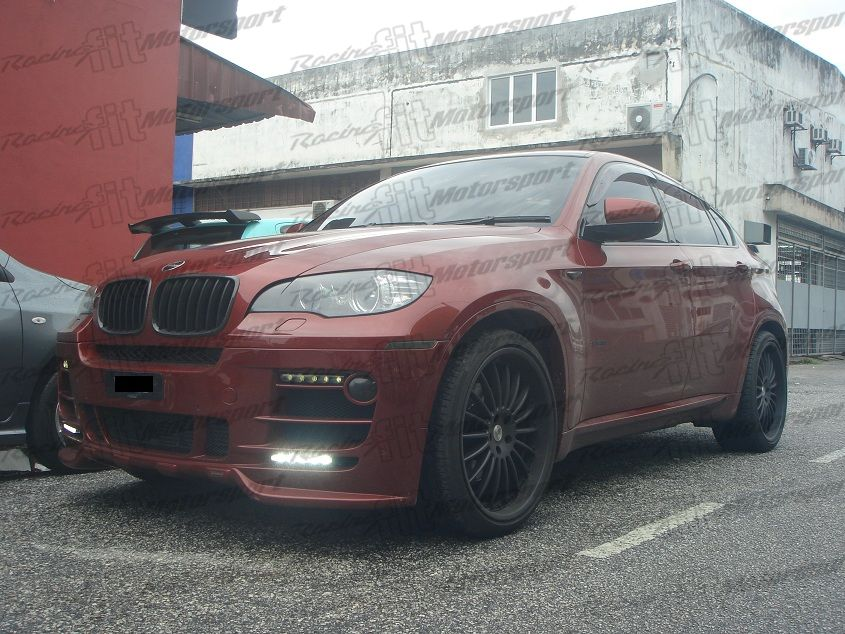BMW X6 E71 Hamann Skirting