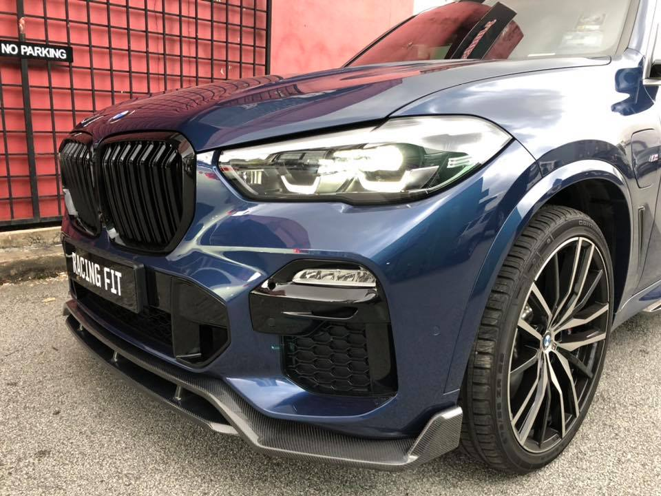 BMW X5 G05 M PERFORMANCE CARBON SKIRTING