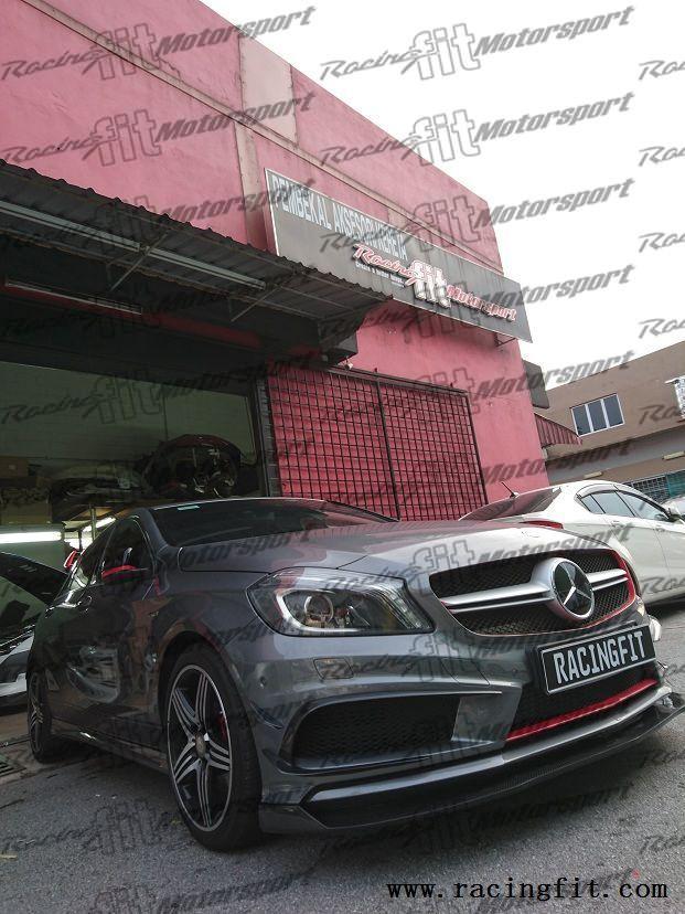 Malaysia body kit spoiler door visor accessories for Mercedes benz accessories catalog