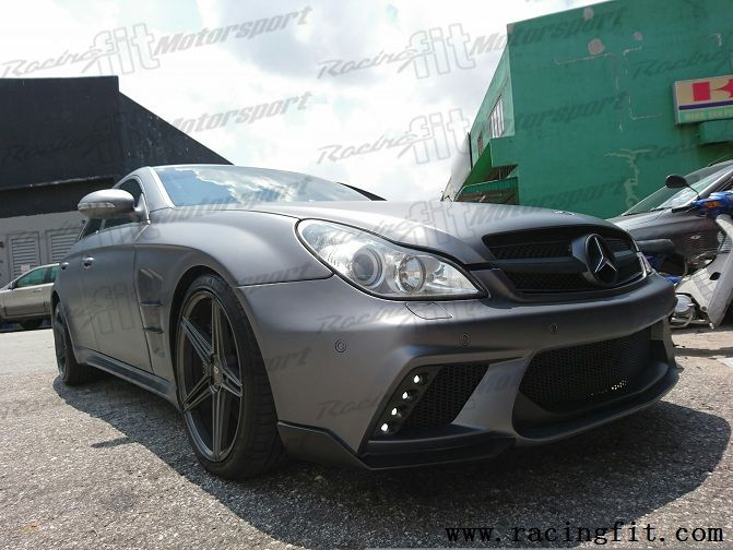 Mercedes Benz W219 CLS Class WALD Black Bison Style Bodykit