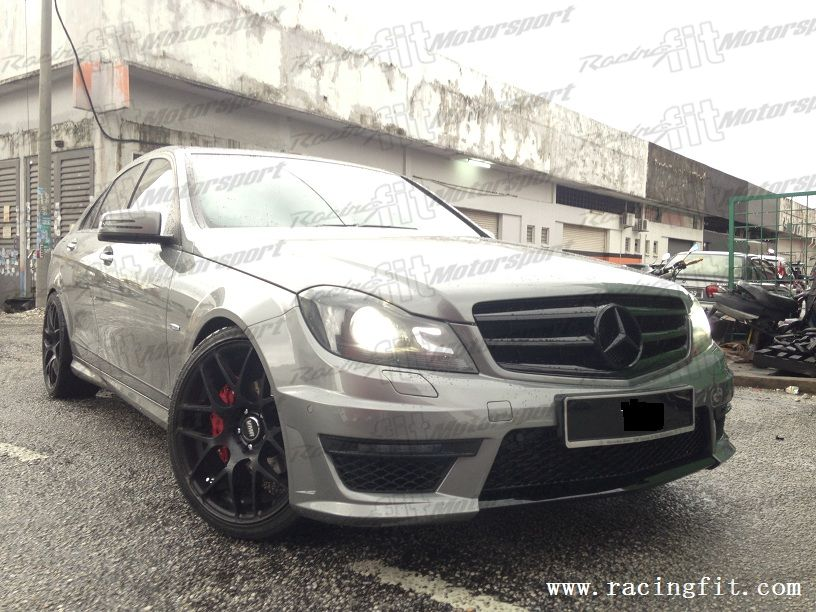 Mercedes Benz C-Class W204 C63 AMG Facelift Bodykit