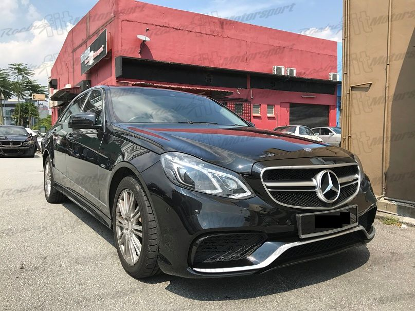 Mercedes Benz E-Class W212 Facelift E63 Bodykit
