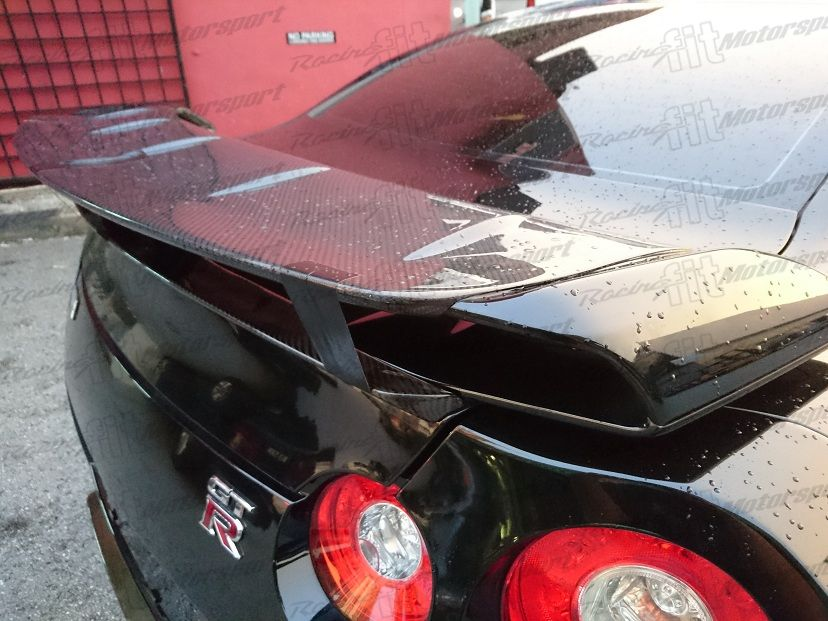 GTR R35 Wald Carbon Fiber add on Spoiler