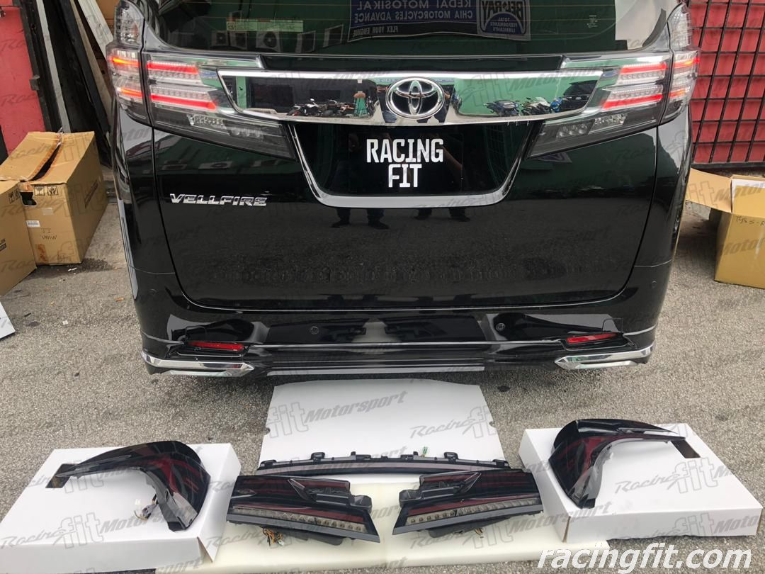Toyota  Vellfire ANH30 Crystal Eyes Taillamp