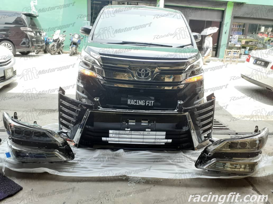 Toyota  Vellfire ANH30  Facelift Conversion