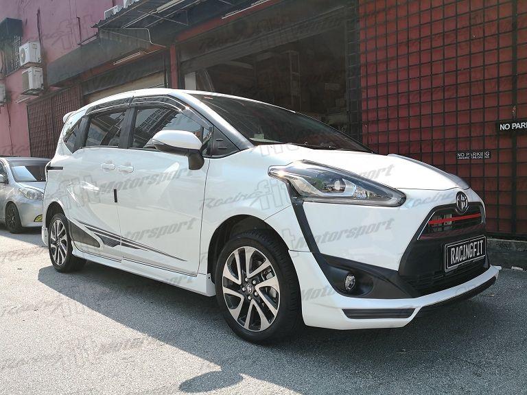 Toyota Sienta TRD Bodykit