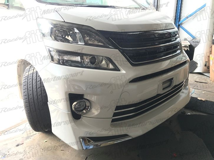 Vellfire New Facelift Bumper