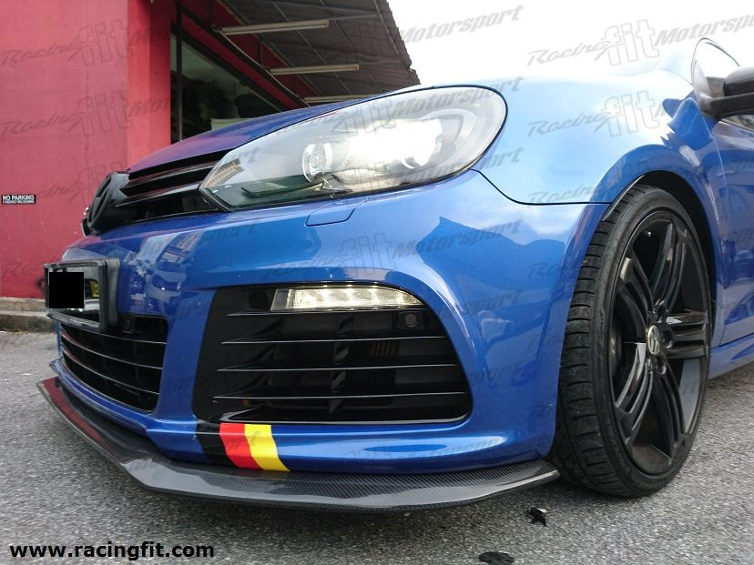 Volkswagen Golf MARK 6 CF Front lip Golf R