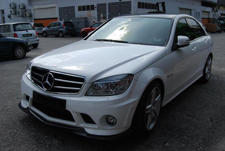 Mercedes Benz C-Class W204 Body Kit