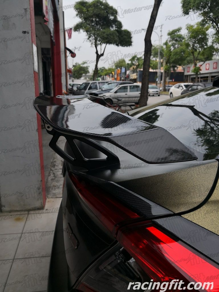 GT WING Vorsteiner Carbon Fiber GT Wing Spoiler Universal for sedan car
