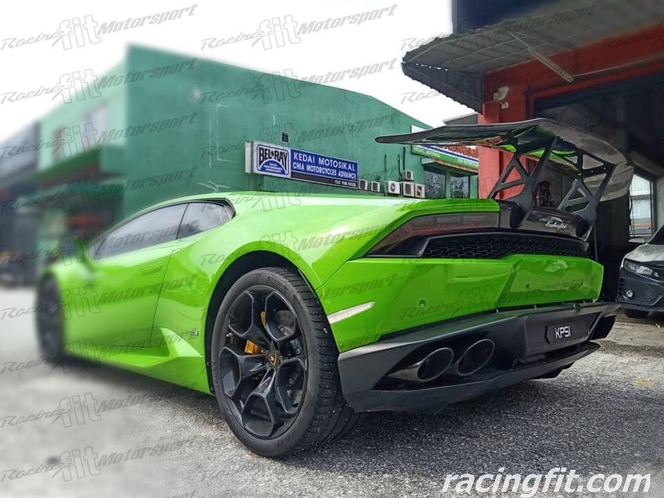 Lamborghini Huracan LP610 LP580 carbon spoiler